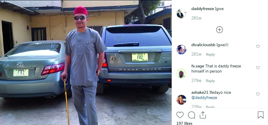 daddy freeze on tithe