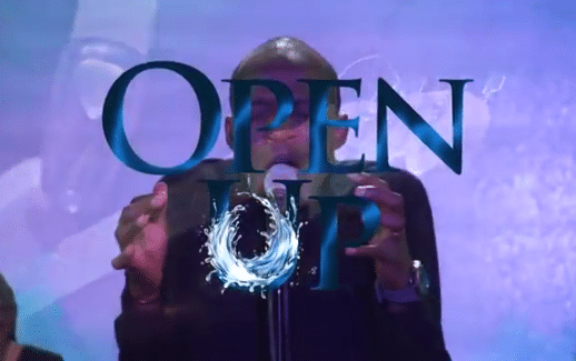 open up by Dunsin Oyekan